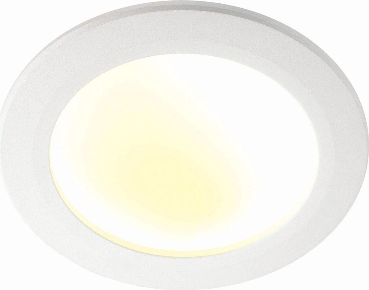 Светильник встраиваемый Novotech Gesso, цвет: белый, LED, 6 Вт. 357353357353