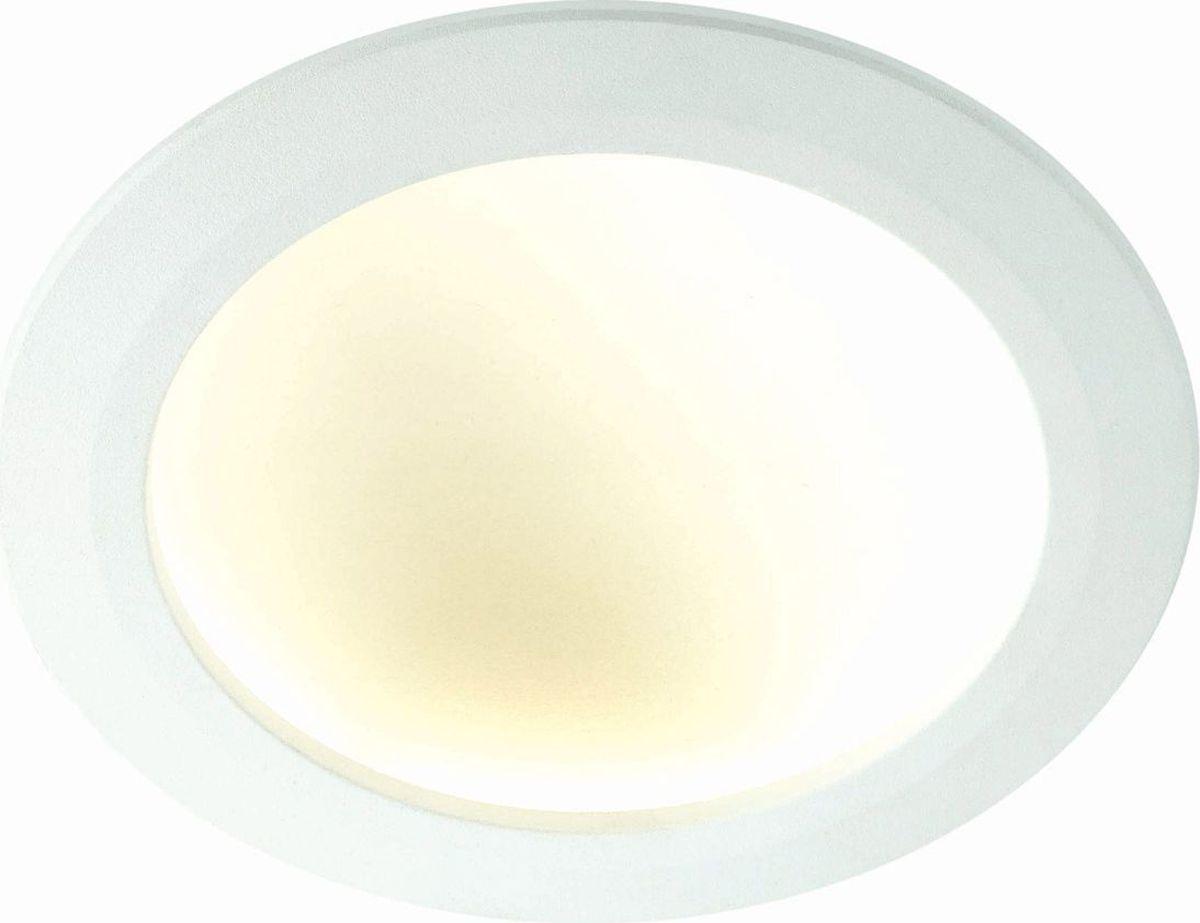 Светильник встраиваемый Novotech Gesso, цвет: белый, LED, 8 Вт. 357354357354