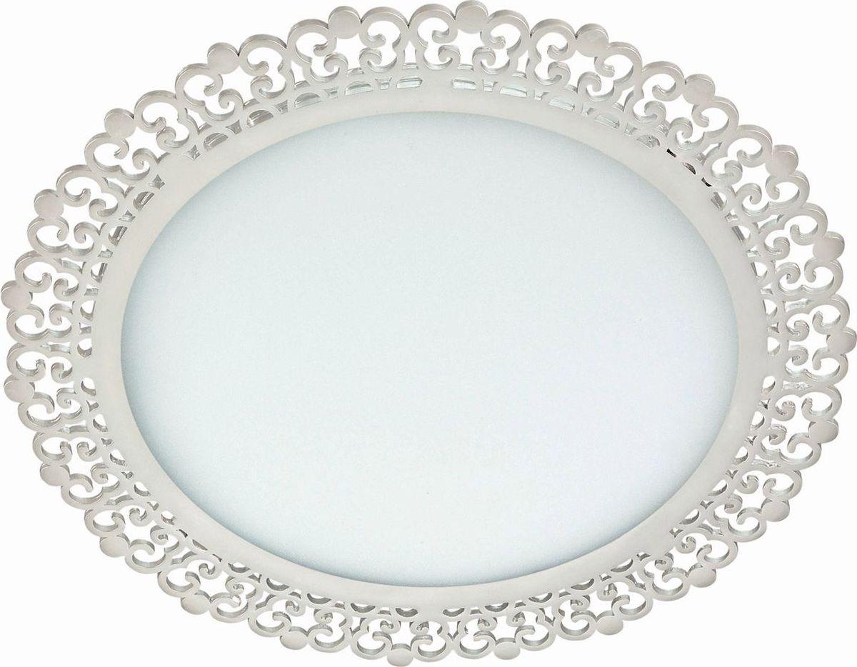Светильник встраиваемый Novotech Sade, цвет: белый, LED, 6 Вт. 357390357390