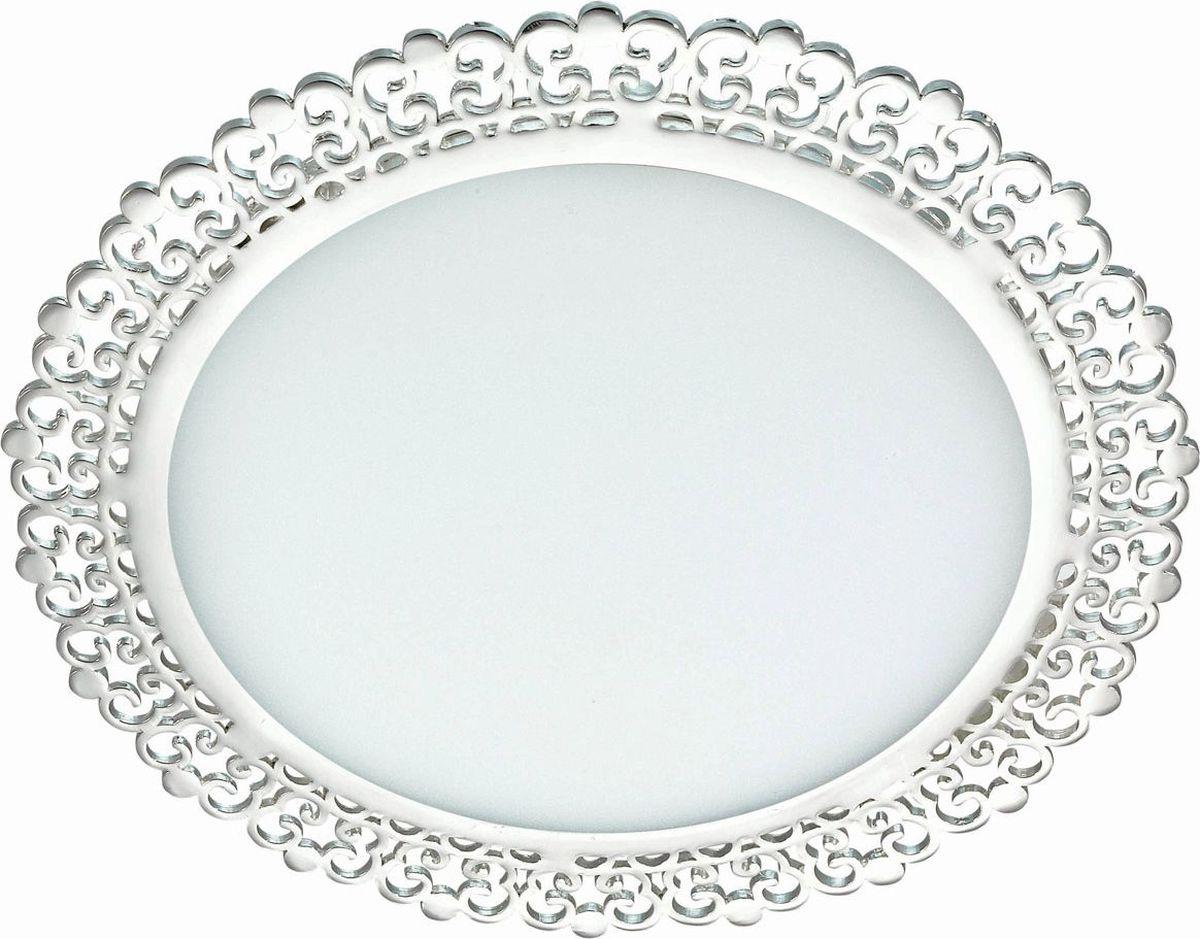 Светильник встраиваемый Novotech Sade, цвет: белый, LED, 6 Вт. 357392357392