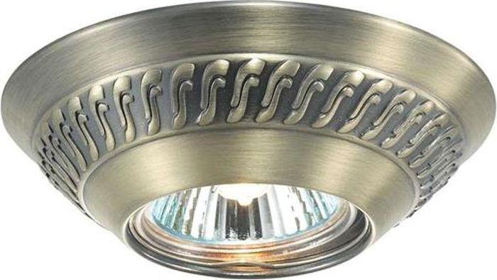 Светильник встраиваемый Novotech Wind, цвет: бронза, GX5.3, 2,8 Вт. 369658369658