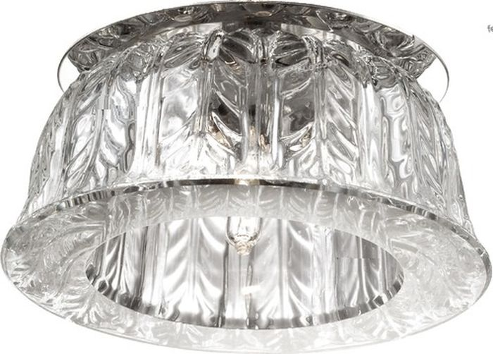 Светильник встраиваемый Novotech Arctica, цвет: прозрачный, G9, 2,2 Вт. 369669369669