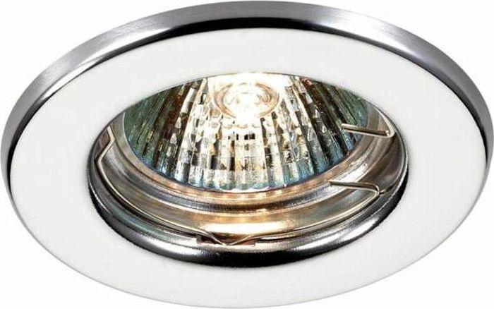 Светильник встраиваемый Novotech Classic, цвет: хром, GX5.3, 2,8 Вт. 369702369702