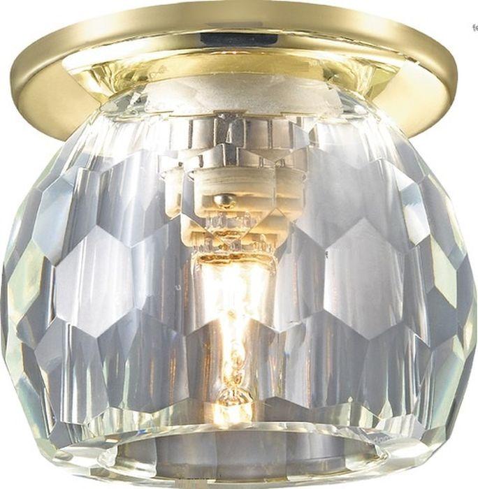 Светильник встраиваемый Novotech Dew, цвет: прозрачный, G9, 2,2 Вт. 369800369800