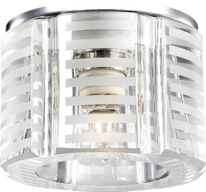 Светильник встраиваемый Novotech Nord, цвет: прозрачный, G9, 2,2 Вт. 369809369809