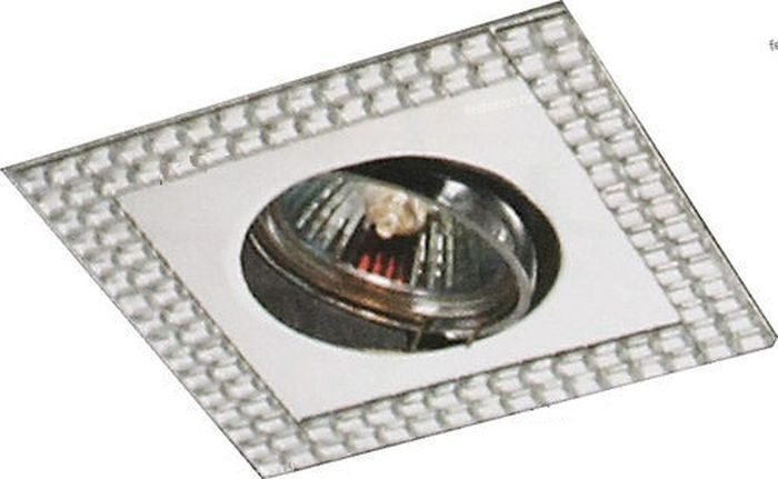 Светильник встраиваемый Novotech Mirror, цвет: зеркальный, GX5.3, 2,8 Вт. 369836369836
