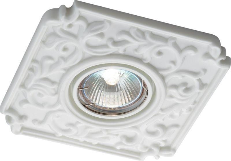 Светильник встраиваемый Novotech Farfor, цвет: белый, GX5.3, 2,8 Вт. 369865369865