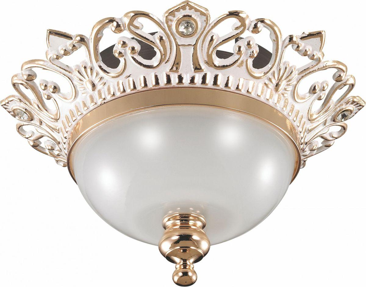 Светильник встраиваемый Novotech Baroque, цвет: белый, GX5.3, 2,8 Вт. 369983369983