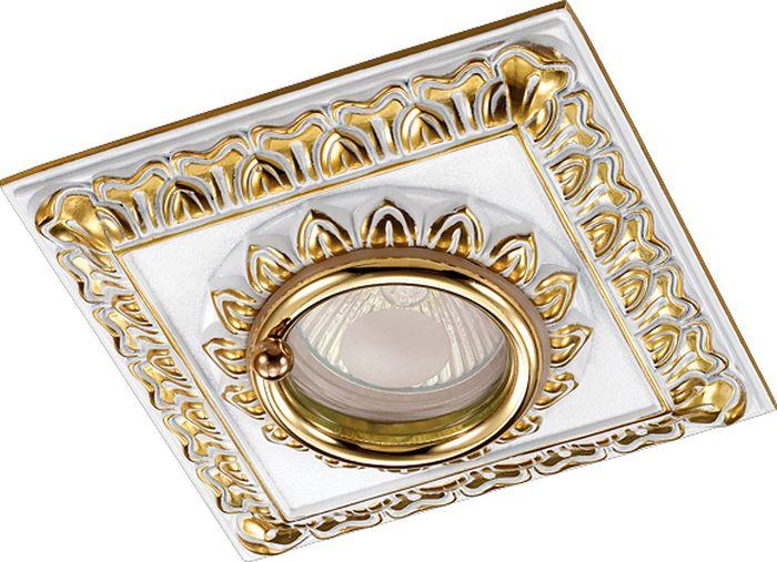 Светильник встраиваемый Novotech Daisy 314, цвет: белый, GX5.3, 2,8 Вт. 370047370047