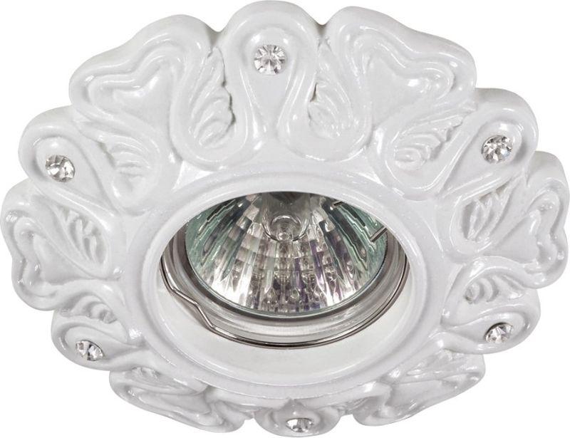 Светильник встраиваемый Novotech Pattern, цвет: белый, GX5.3, 2,8 Вт. 370122370122