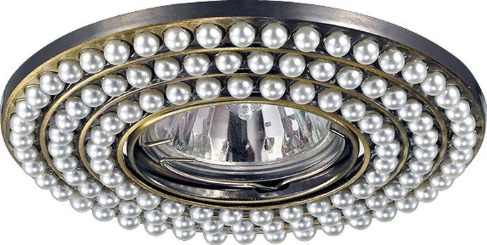 Светильник встраиваемый Novotech Pattern 095, цвет: белый, GX5.3, 2,8 Вт. 370143370143