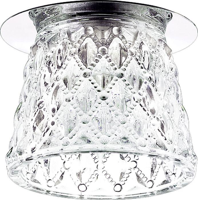 Светильник встраиваемый Novotech Dew, цвет: прозрачный, G9, 2,2 Вт. 370149370149