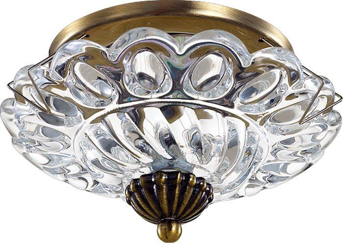 Светильник встраиваемый Novotech Gem, цвет: прозрачный, GX5.3, 2,8 Вт. 370156370156