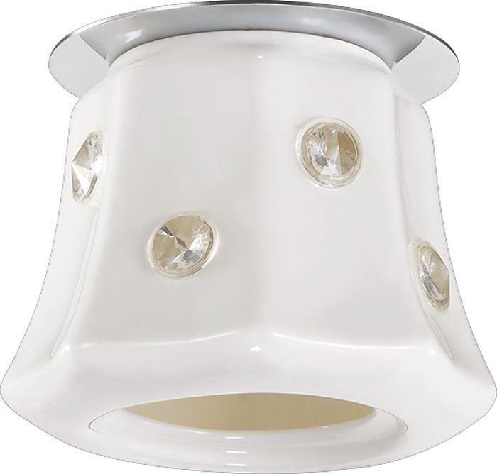 Светильник встраиваемый Novotech Zefiro, цвет: белый, G9, 2,2 Вт. 370158370158