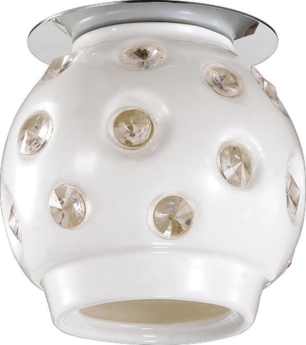 Светильник встраиваемый Novotech Zefiro, цвет: белый, G9, 2,2 Вт. 370159370159