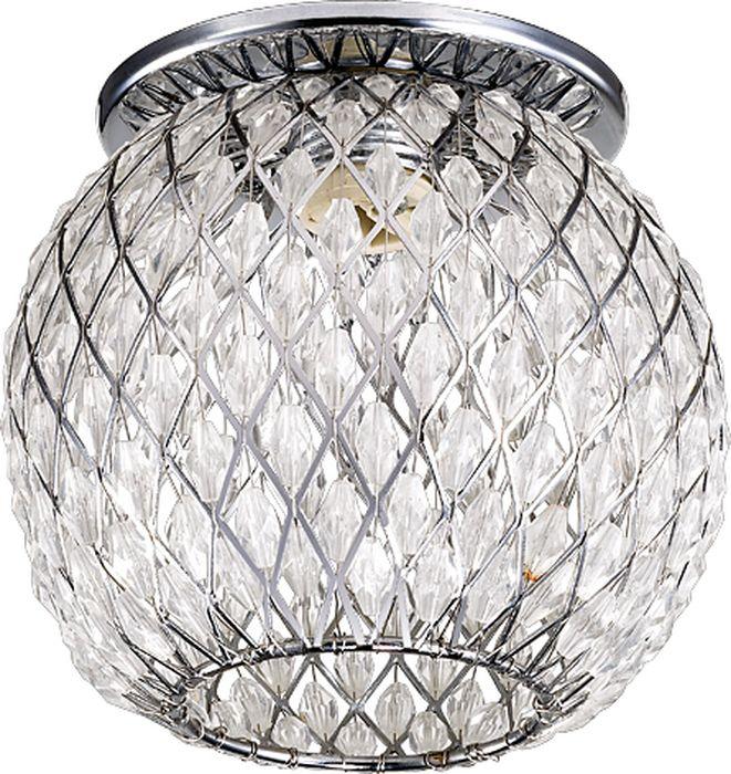 Светильник встраиваемый Novotech Mizu, цвет: прозрачный, G9, 2,2 Вт. 370162370162