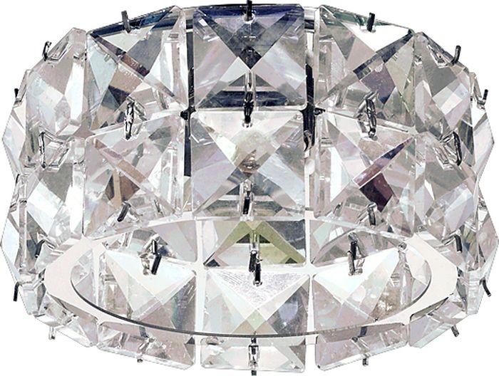 Светильник встраиваемый Novotech Neviera 140, цвет: прозрачный, G9, 2,2 Вт. 370164370164