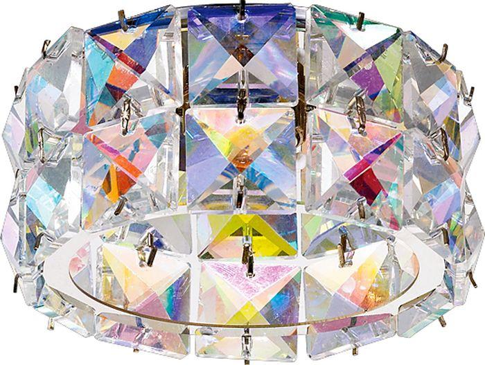 Светильник встраиваемый Novotech Neviera 140, цвет: мультиколор, G9, 2,2 Вт. 370165370165