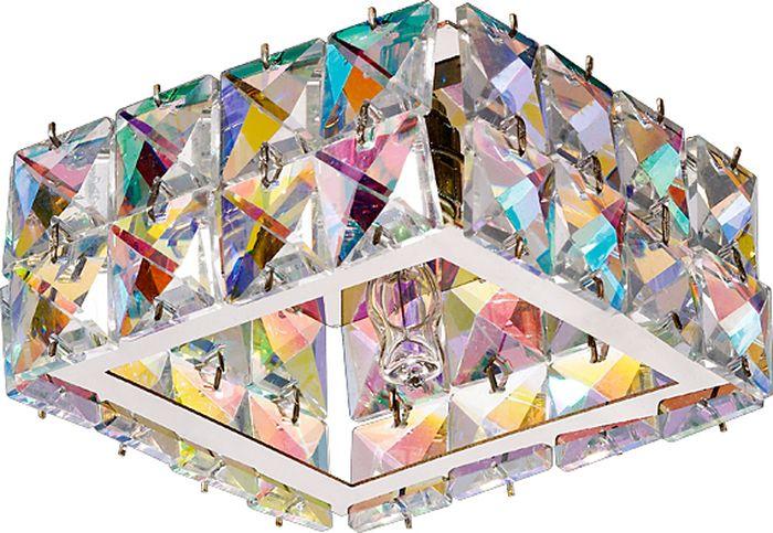 Светильник встраиваемый Novotech Neviera 141, цвет: мультиколор, G9, 2,2 Вт. 370167370167