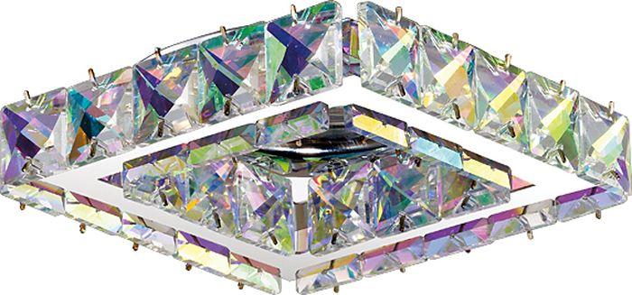Светильник встраиваемый Novotech Neviera 143, цвет: прозрачный, GX5.3, 2,8 Вт. 370171370171