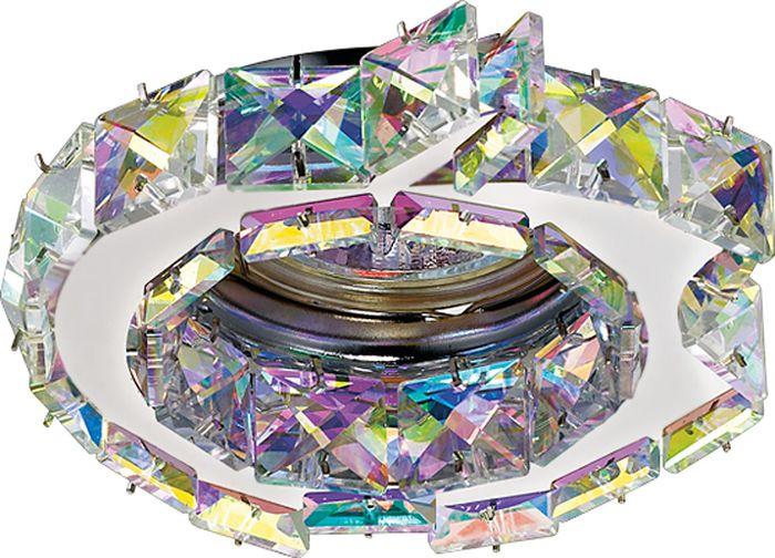 Светильник встраиваемый Novotech Ringo, цвет: мультиколор, GX5.3, 2,8 Вт. 370173370173
