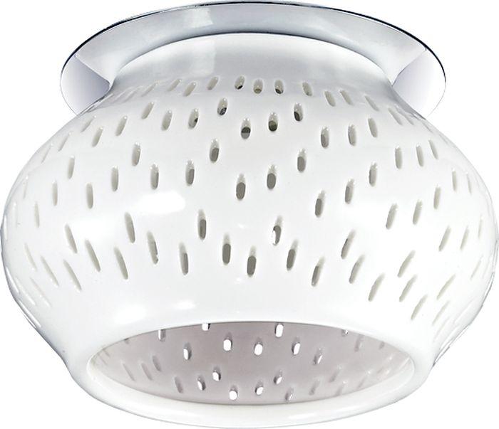 Светильник встраиваемый Novotech Farfor, цвет: белый, G9, 2,2 Вт. 370212370212