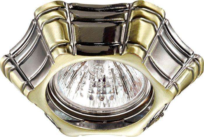 Светильник встраиваемый Novotech Forza, цвет: бронза, GX5.3, 2,8 Вт. 370252370252