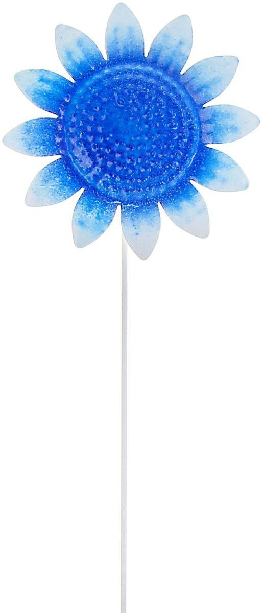 Украшение декоративное садовое Синий подсолнух, цвет: синий, 9 х 9 х 35 см1004170Летом практически каждая семья стремится проводить больше времени за городом. Прекрасный выбор для комфортного отдыха и эффективного труда на даче, который будет радовать вас достойным качеством.