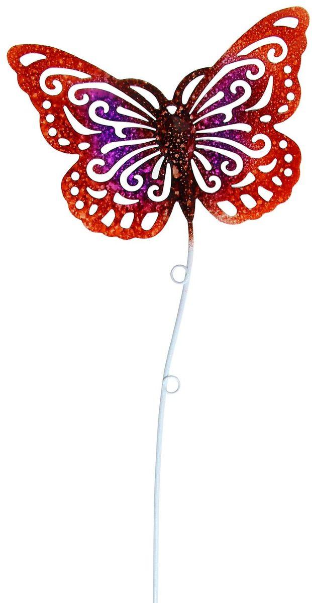 Украшение декоративное садовое Бабочка, цвет: красный, розовый, 14 х 11 х 35 см1004177Летом практически каждая семья стремится проводить больше времени за городом. Прекрасный выбор для комфортного отдыха и эффективного труда на даче, который будет радовать вас достойным качеством.