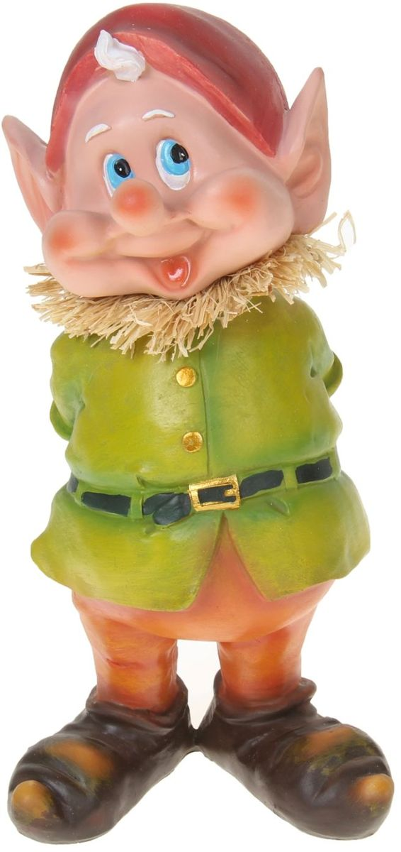Фигура садовая Застенчивый гном, 30 х 16 х 14 см1010299Садовая фигура Застенчивый гном будет охранять урожай и приносить удачу. Удивите гостей и порадуйте близких - поселите у себя на дачном участке веселого жильца.Садовая фигура изготовлена из пластика.Размер фигуры: 30 х 16 х 14 см.