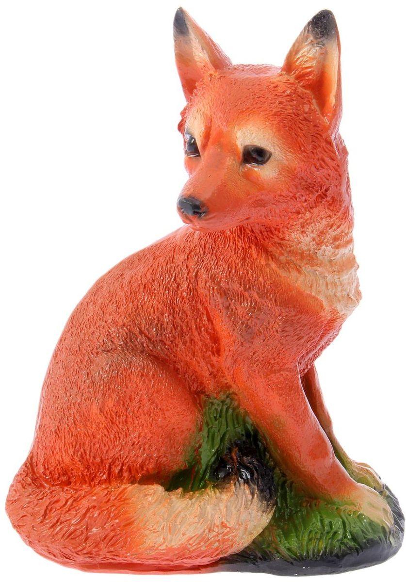 Фигура садовая Сидящая лисица, 19 х 27 х 37 см1076272