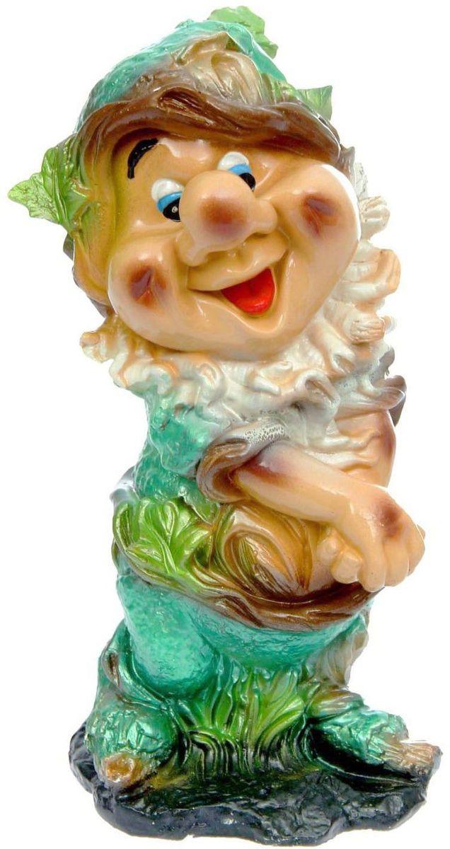Фигура садовая Premium Gips Счастливый гном, 19 х 17 х 39 см1148441