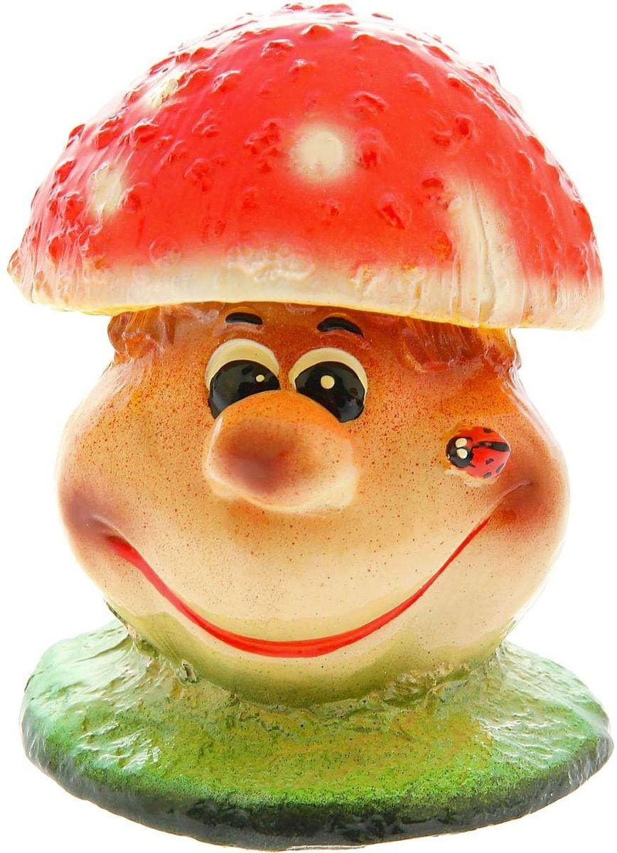 Фигура садовая Premium Gips Гриб мухомор-мультяшка, 10 х 10 х 13 см1148460Очаровательные фигурки грибов украсят сад. Расположите грибочек под деревом или в траве и приятно удивите прогуливающихся в саду гостей. Симпатичная фигурка станет прекрасным подарком заядлому садоводу. Такой декор будет гармонично смотреться в огородах и на участках с обилием зелени. Дополните пространство сада интересной деталью.
