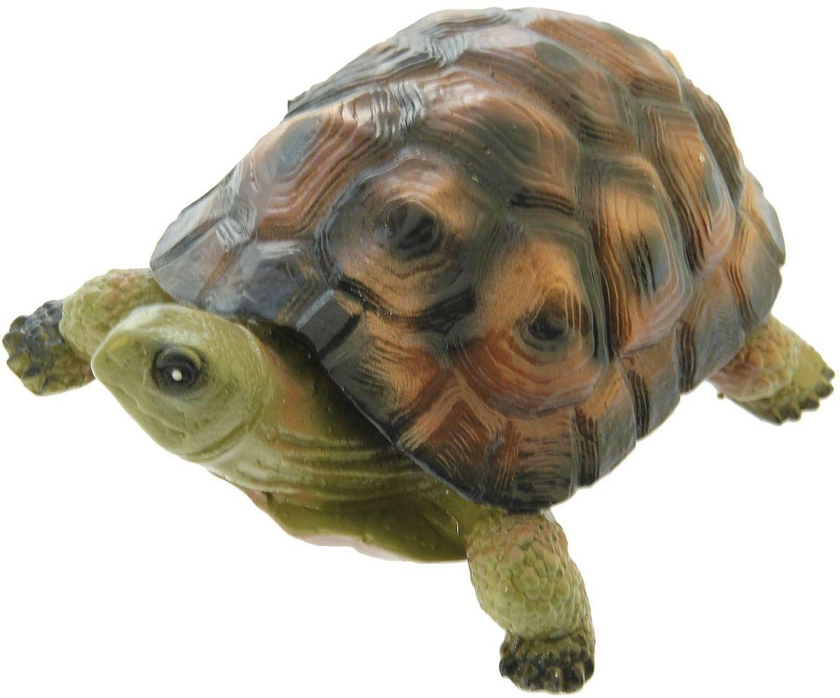 Фигура садовая Premium Gips Черепаха Эмбер, 31 х 23 х 14 см