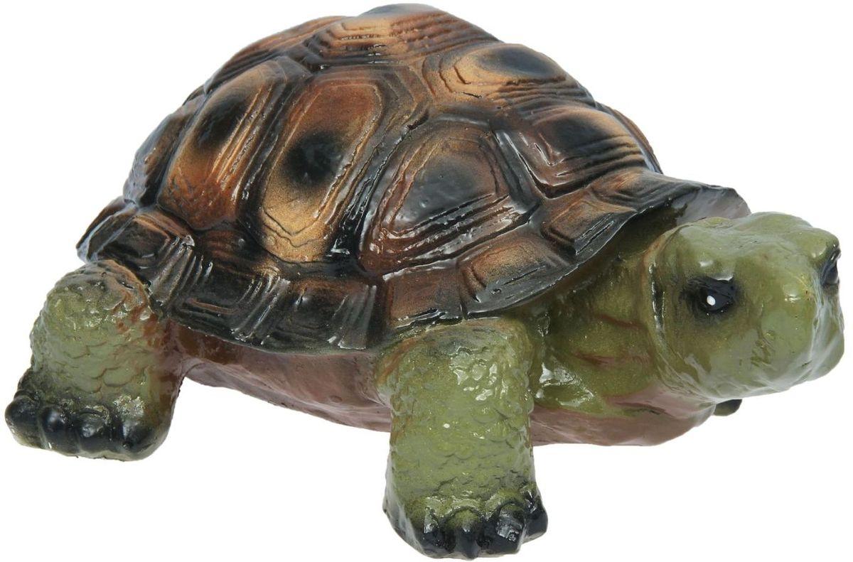 """Фигура садовая Premium Gips """"Черепаха Карл"""", 42 х 28 х 20 см 1148497"""