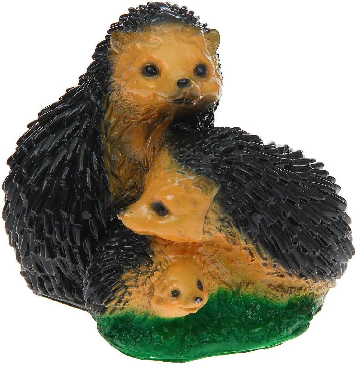 Фигура садовая Семейка ежиков, 17 х 21 х 20 см1160685