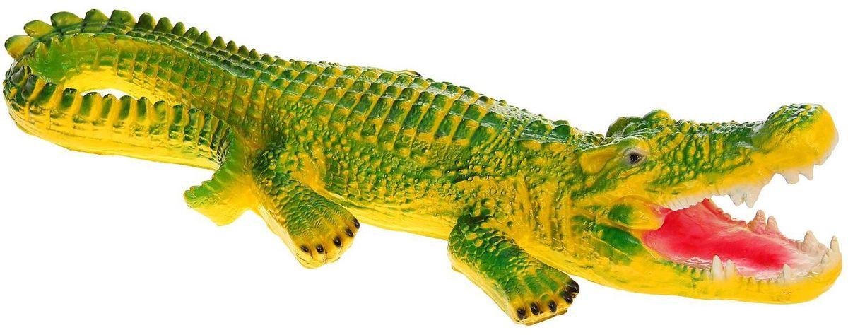 Фигура садовая Крокодил, 80 х 27 х 18 см1160692 Летом практически каждая семья стремится проводить больше времени за городом. #name# — прекрасный выбор для комфортного отдыха и эффективного труда на даче, который будет радовать вас достойным качеством.
