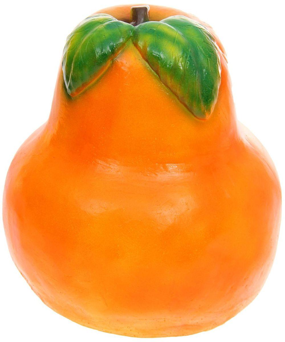Фигура садовая Оранжевая груша, 35 х 35 х 45 см1161059Создайте настроение в любимом саду: украсьте его оригинальным декором - садовой фигурой. Сделайте свой сад неповторимым. Разрабатывайте собственный дизайн и расставляйте акценты. Хотите привлечь внимание к клумбе? Поставьте садовую фигуру рядом с ней. А расположенная прямо у калитки, она будет приятно удивлять гостей. Такой декор легко замаскирует неприглядные детали на участке. Садовый декор из гипса экологичен, лёгок и долговечен. Это прекрасный подарок заядлому садоводу. Украшайте сад оригинально.