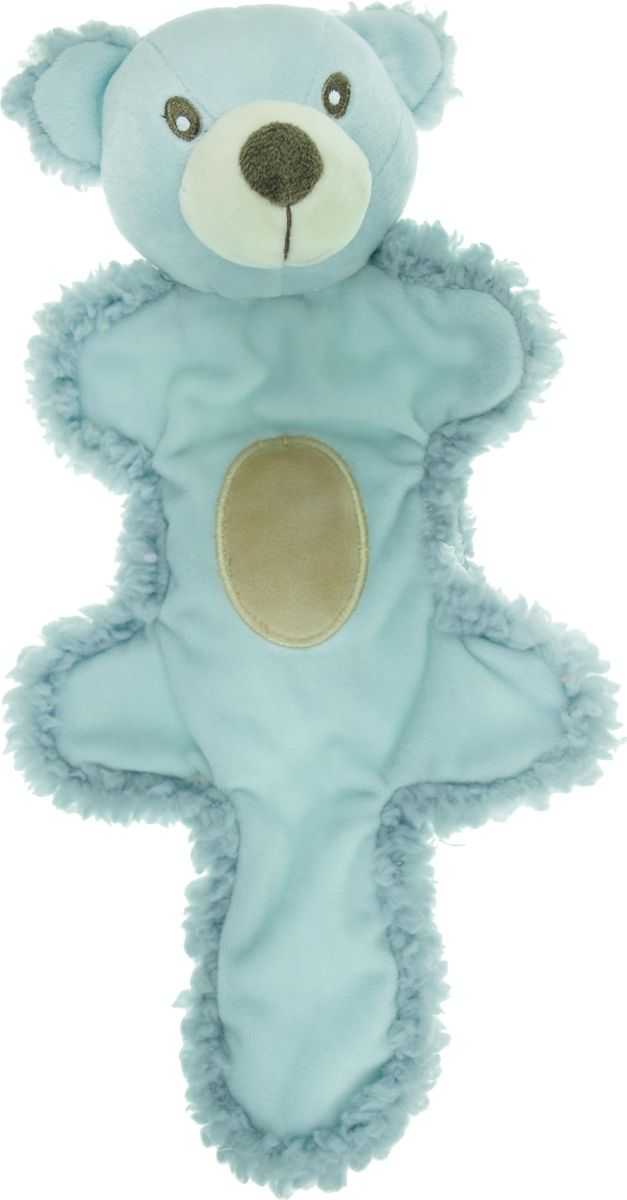 Игрушка для собак Aromadog  Мишка с хвостом , цвет: голубой, 25 см - Игрушки