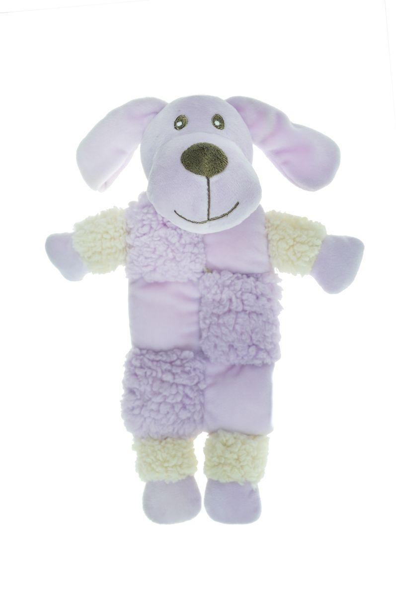 Игрушка для собак Aromadog  Собачка , с 3 пищалками, цвет: сиреневый, 20 см - Игрушки