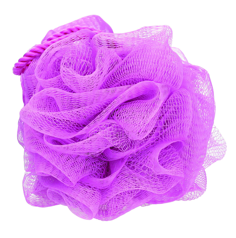 QVS Luxe Bath Sponge Мочалка для тела со шнуром10-2190Мочалка для тела со шнуромВзбейте на мочалке пену и проведите ею по всему телу для прекрасного отшелушивающего эффекта. Специальный сетчатый материал идеален для нежной очистки кожи, а благодаря удобному шнуру, мочалку удобно хранить в ванной комнате. Цвет: розовый