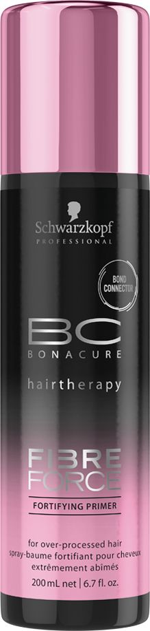 Bonacure Укрепляющий праймер Fibre Force, 200 мл2079223Укрепляющий праймер для волос в виде сыворотки с технологией Bond Connector создает связи внутри волосяной матрицы и запечатывает кутикулу волос для долговременного ухода. Распутывает, смягчает и обеспечивает волосам защиту от теплового воздействия. Волосы более устойчивы к повреждениям, мягкие и блестящие.
