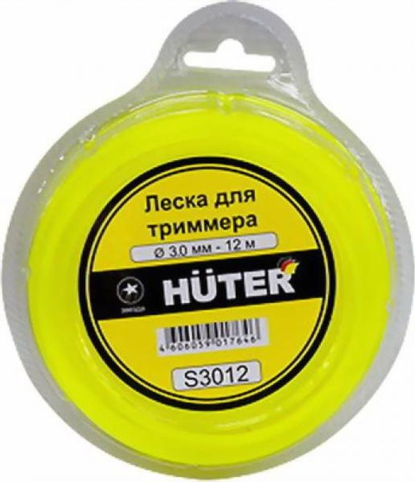 Леска для триммера Huter Звезда, 3 мм х 12 м . S3012 meike mk d500 vertical battery grip shooting for nikon d500 camera replacement of mb d17