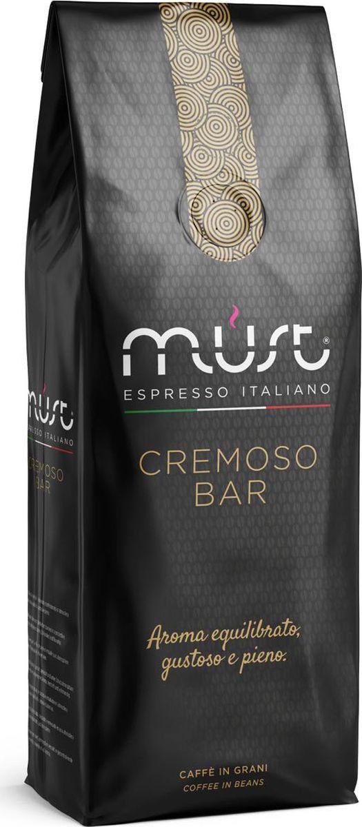 Must Cremoso кофе в зернах, 1 кг 1 toy кукольный домик красотка колокольчик с мебелью 29 деталей