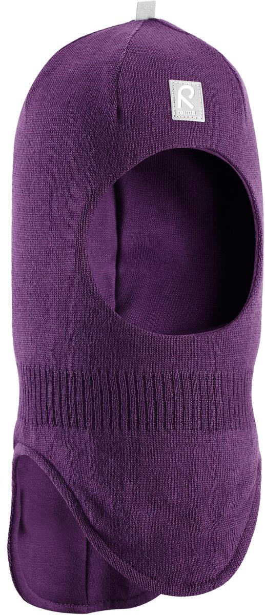 Балаклава для девочек Reima Starrie, цвет: лиловый. 5184225930. Размер 525184225930