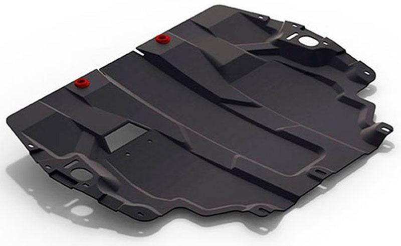 Защита картера и КПП Автоброня Volkswagen Caddy 2015-, сталь 2