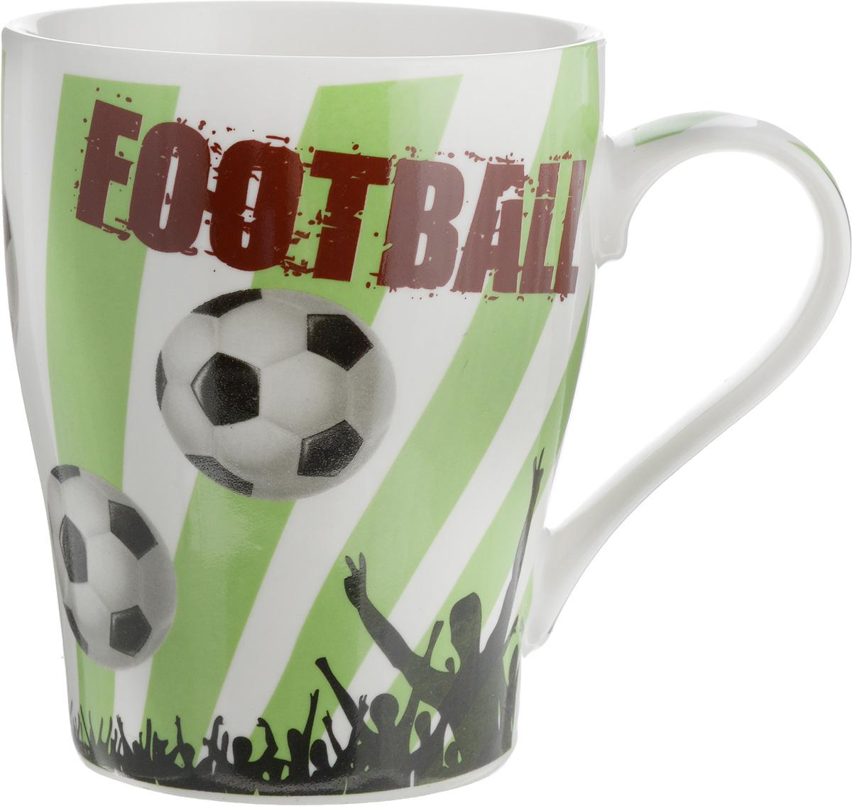 Кружка Loraine Футбол, 340 мл. 26653-1 кружка loraine футбол 340 мл 26652