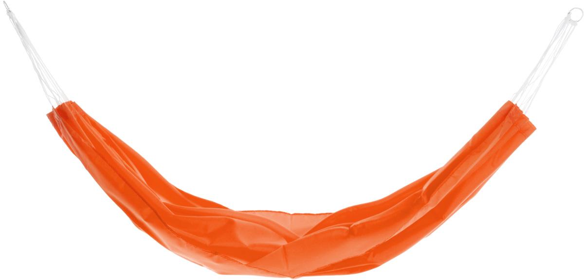 Гамак Eva, на кольцах, цвет: оранжевый, 145 х 200 смК341_оранжевыйПрочный гамак на кольцах Eva, изготовленный из высококачественного полиэстера, внесет дополнительный комфорт в ваш отдых на даче, в походе или на пикнике.Дача, лето, свежий воздух, отдых после тяжелой работы, возможность побыть наедине с природой, насладиться запахами листвы и цветов, солнечным светом, пробивающимся сквозь кроны деревьев - все эти приятные мысли и эмоции пробуждаются в нас при взгляде на один очень простой предмет - гамак.