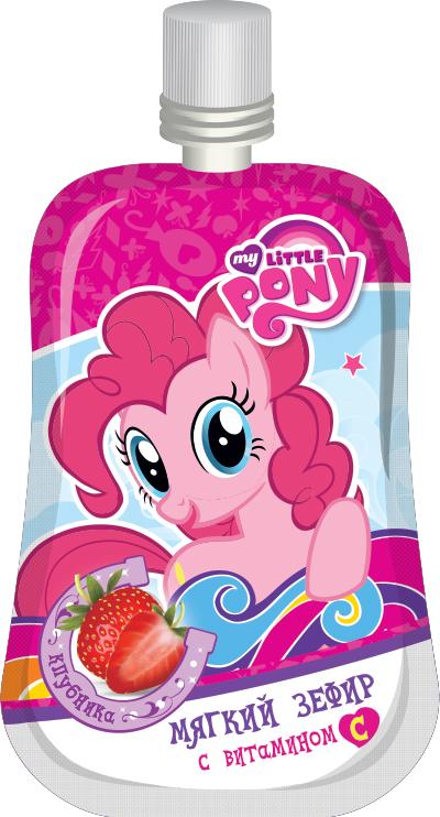 My Little Pony мягкий зефир, 12 г6957229001155Мягкий зефир в фигурном дой-паке с крышечкой с вырубкой в виде героев My Little Pony. 2 вкуса - клубника и персик.УВАЖАЕМЫЕ КЛИЕНТЫ! Товар поставляется в цветовом ассортименте. Поставка осуществляется в зависимости от наличия на складе.