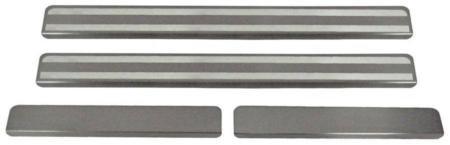 Накладки на пороги Автоброня, для Lada XRAY 2016-, 4 шт. NPLAXRA013NPLAXRA013Накладки на пороги Автоброня создают индивидуальный интерьер автомобиля и защищают лакокрасочное покрытие от механических повреждений.Особенности:- Использование высококачественной итальянской нержавеющей стали AISI 304 (толщина 0,5 мм).- Надежная фиксация на автомобиле с помощью скотча 3М серии VHB.- Устойчивое к истиранию изображение на накладках нанесено методом абразивной полировки.- Идеально повторяют геометрию порогов автомобиля.- Легкая и быстрая установка.В комплект входят 4 накладки (2 передние и 2 задние).